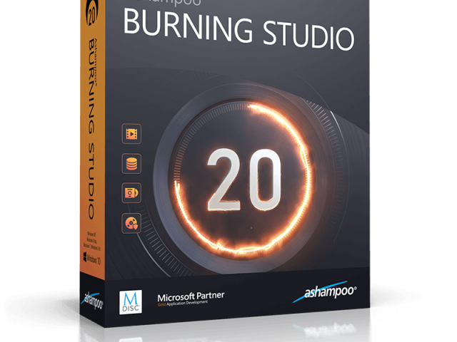 Ashampoo Burning Studio Crack v21.6.1.63 + Keygen [Updated]
