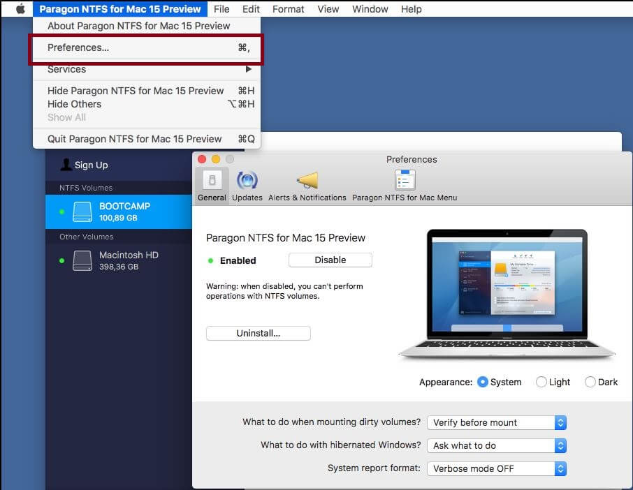Paragon NTFS Serial KEy