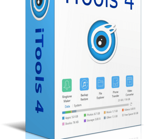 iTools 4.4.5.7 Crack + Activation Key