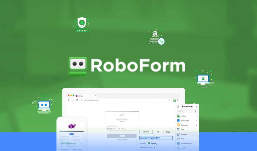 roboform crack Download Full Cracked Version and Product Keys. Along with Regular Updates.