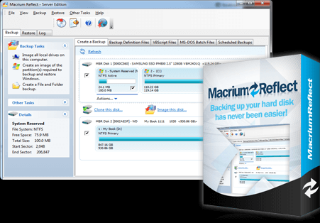 Macrium Reflect Crack Download v7.2.5107 + Key [Latest Version]