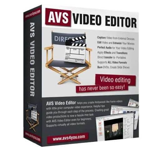 AVS Video Editor Crack v9.4.1.360 + Serial Key [Latest]