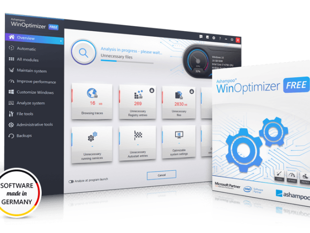 Ashampoo Winoptimizer Crack v18.00.18 + Product Key [2021]